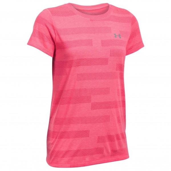 Schipkau Schipkau Angebote Under Armour - Women´s Threadborne Train S/SC Jac T-Shirt Gr L rot/rosa