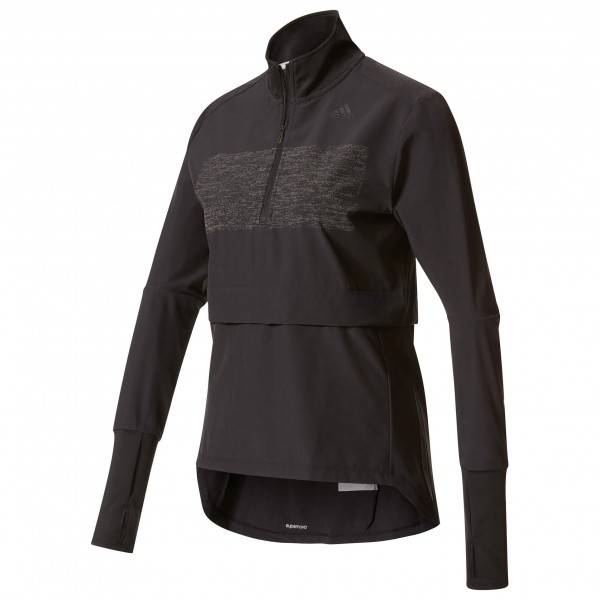 adidas - Supernova Storm 1/2 Zip Women - Laufshirt Gr S;XS schwarz Preisvergleich