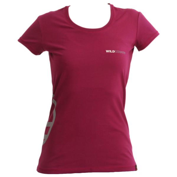Wild Country - Women´s Logo T Shirt T-Shirt Gr 36 EU (IT): 42;38 44 rot/rosa