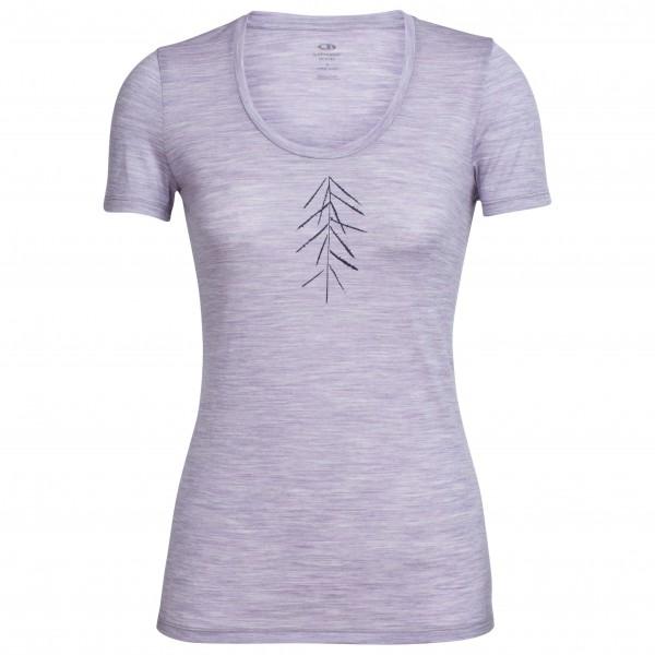 Icebreaker - Women´s Tech Lite S/S Scoop Lancewood - T-Shirt Gr M grau Preisvergleich