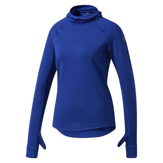 adidas - Supernova Tokyo Long Sleeve Tee Womens Laufshirt Gr L;S blau