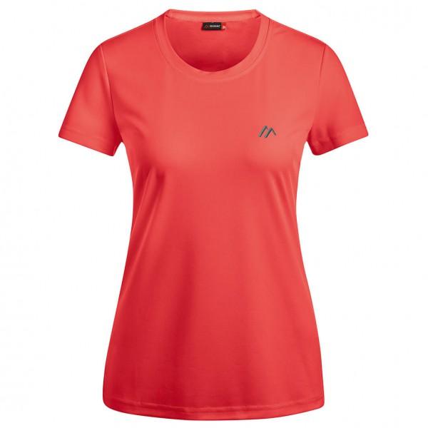 Maier Sports - Women's Waltraud - Funktionsshirt Gr 48 - Regular rot