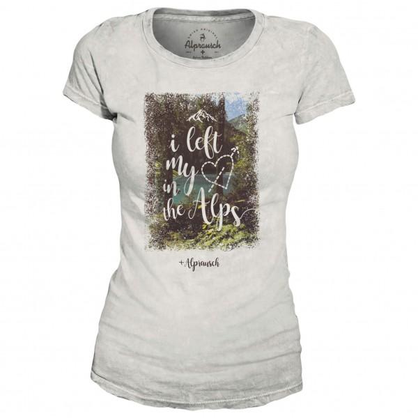 Alprausch - Women´s Bergliebi T-Shirt Gr L;M;XL;XS grau