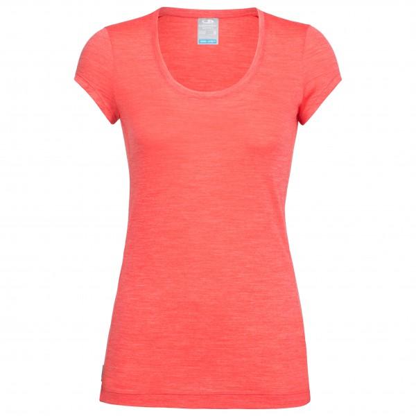 Icebreaker - Women´s Sphere S/S Scoop - T-Shirt Gr XL rot Preisvergleich