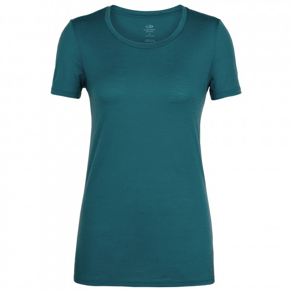 Icebreaker - Women´s Tech Lite S/S Low Crewe - T-Shirt Gr L türkis Preisvergleich