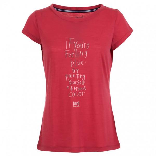SuperNatural - Women´s Graphic Tee T-Shirt Gr L;M;S;XL;XS grau;schwarz;rosa;blau