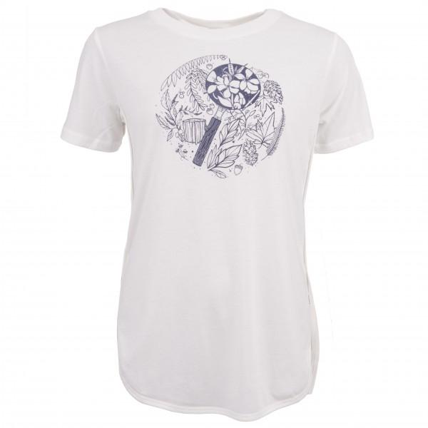 tentree - Women's Indigenous - T-Shirt Gr XS grau/weiß