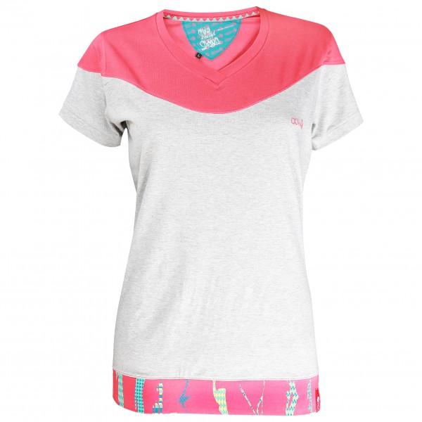 ABK - Women´s Etnik Tee - T-Shirt Gr L weiß/grau/rot Preisvergleich