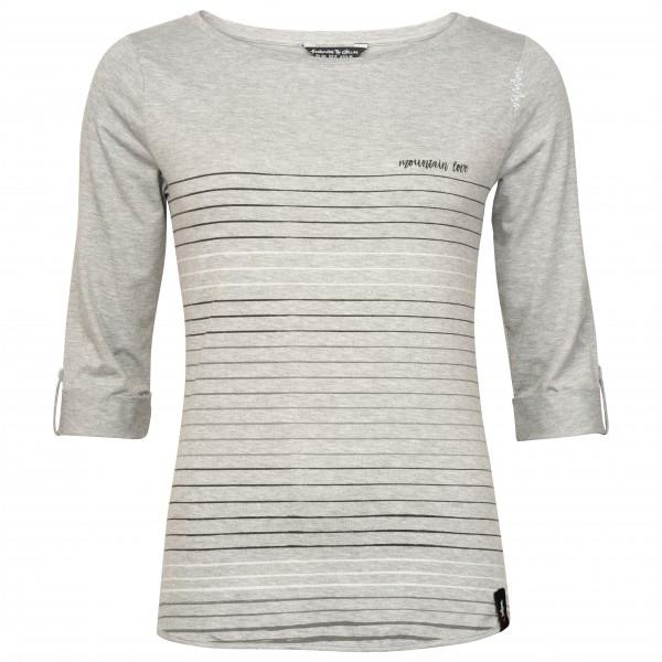 Chillaz - Women´s Balanced Stripes - Longsleeve Gr 44 grau/weiß Preisvergleich