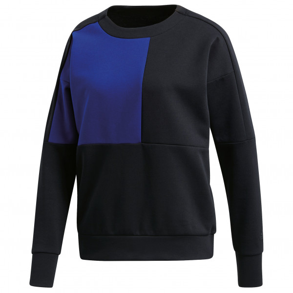 adidas - Women´s ID Glory Colourblock Crew - Funktionsshirt Gr M schwarz/lila