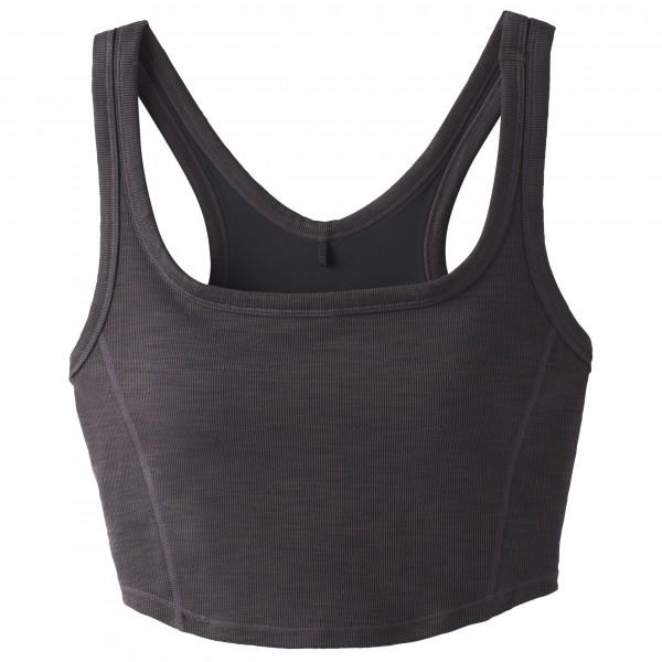 Prana - Women's Becksa Bralette - Débardeur taille XL, noir