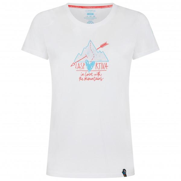 La Sportiva - Womens Alakay - T-shirt Size L  White/grey