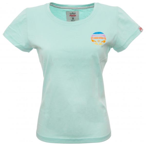 Van One - Women's Bulli Face Retro Shirt - T-Shirt Gr M grau