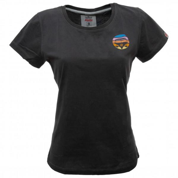 Van One - Women's Bulli Face Retro Shirt - T-Shirt Gr L;M;XS grau