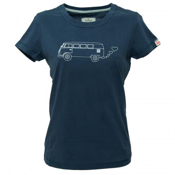 Van One - Women's Bulli Side T-Shirt Gr L blau