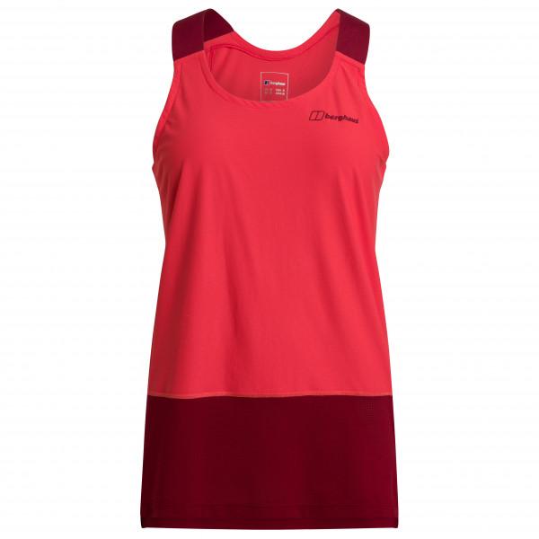 Berghaus - Womens Nesna Base Vest - Top Size 14  Red
