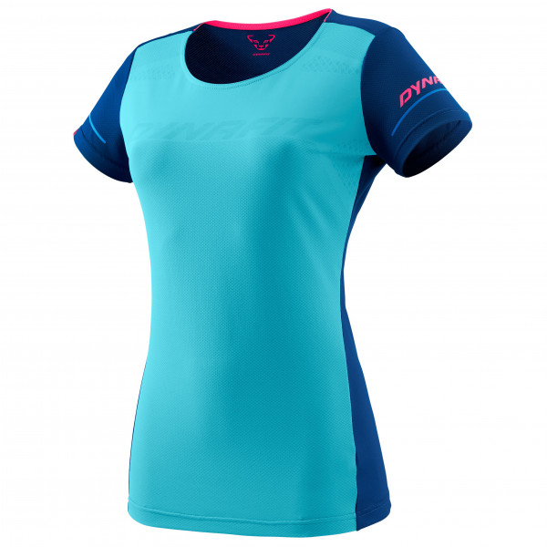 Dynafit - Womens Alpine S/s Tee - Running Shirt Size 40  Turquoise/blue