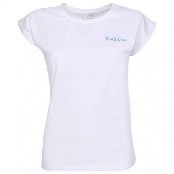 Van One - Women's Bulli Love VW Bulli Shirt - T-Shirt Gr M weiß/grau 21530.2.01.M