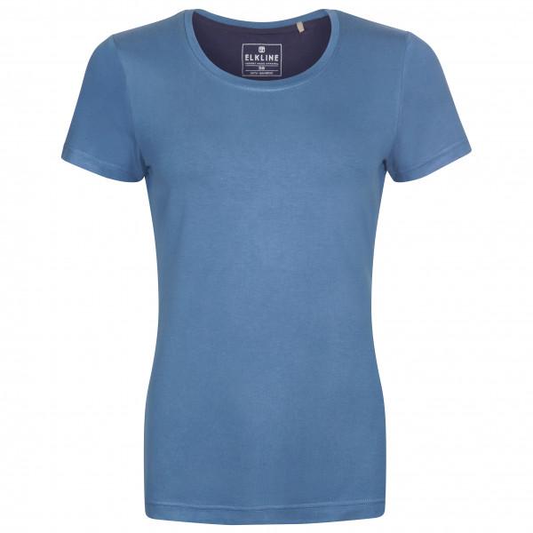 #Elkline – Women's Bambi – T-Shirt Gr 40 blau#