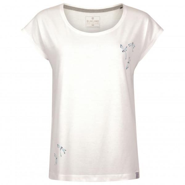 *Elkline – Women's Reed – T-Shirt Gr 36 weiß/grau*