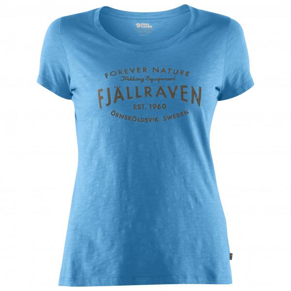 #Fjällräven – Women's Fjällräven Est 1960 T-Shirt – T-Shirt Gr S blau#