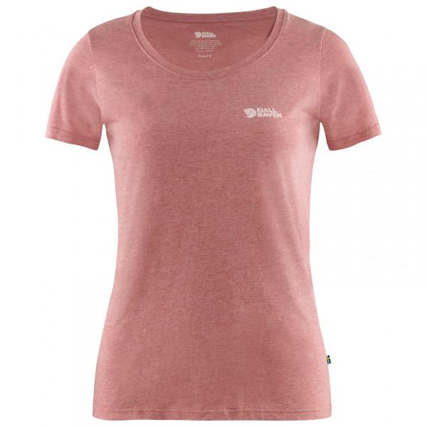 #Fjällräven – Women's Fjällräven Logo T-Shirt – T-Shirt Gr S rot/rosa/beige#