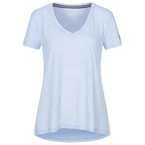 #SuperNatural – Women's Travel Tee – T-Shirt Gr L;M;S;XL;XS blau/schwarz;grau;blau#