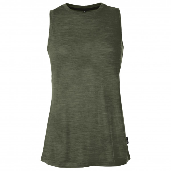 Pallyhi - Womens Tank Robe Tentstitch - Tank Top Size L  Olive