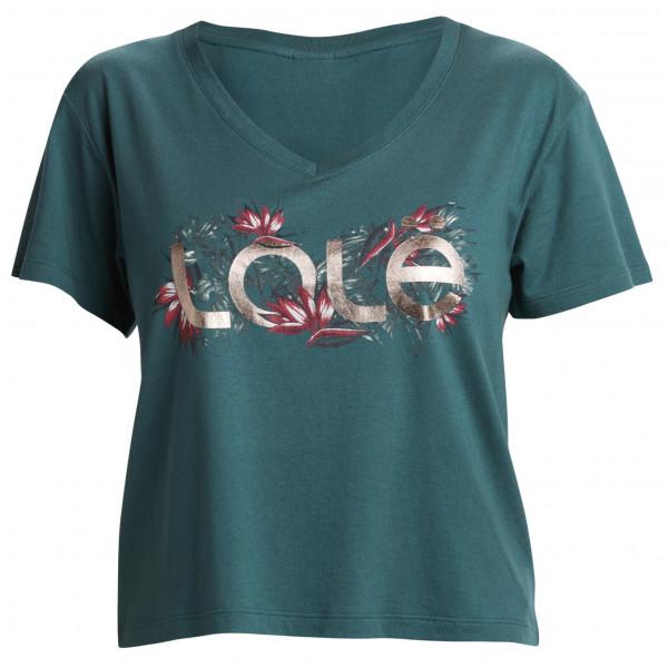 *Lolë – Women's Amara Short Sleeve – T-Shirt Gr M türkis/schwarz*