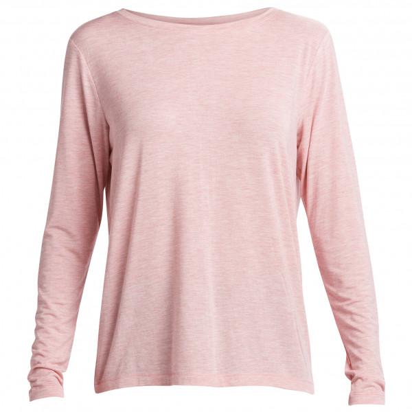 #Lolë – Women's Elisia Long Sleeve – Longsleeve Gr XL grau/rosa/weiß#