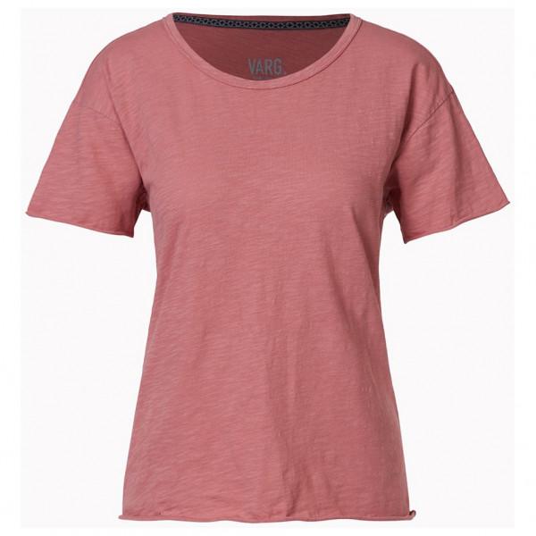 Varg - Women's Björkö - T-Shirt Gr M rot/rosa SP10-W-PP-4