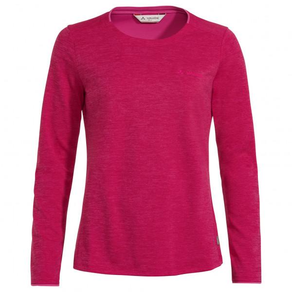 Vaude - Womens Essential L/s T-shirt - Sport Shirt Size 44  Pink