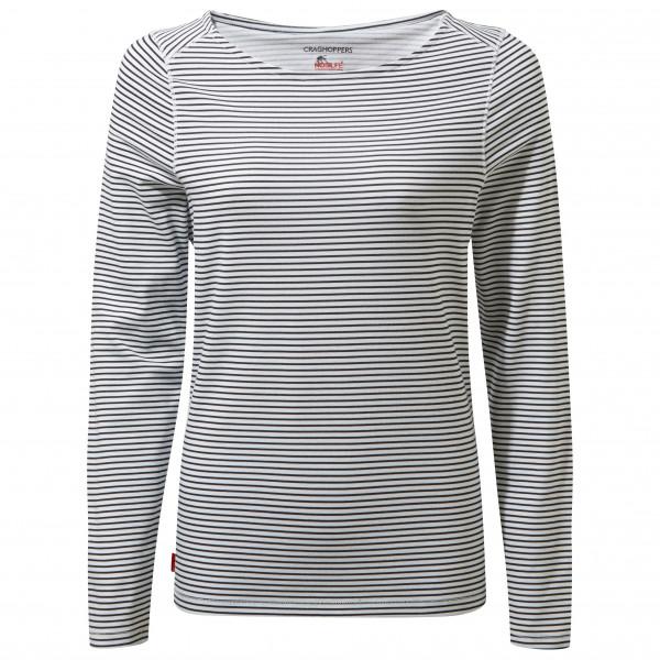 Craghoppers - Womens Nosilife Erin Long Sleeved Top Ii - Longsleeve Size 34  Grey