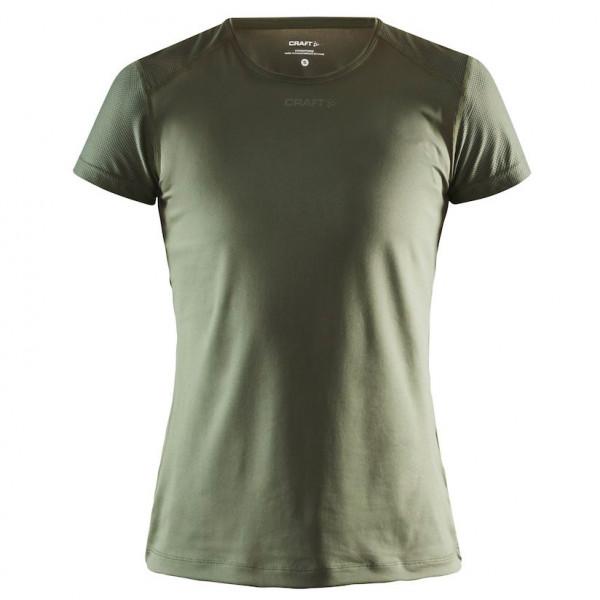Craft - Womens Adv Essence S/s Slim Tee - Sport Shirt Size Xxl  Grey/olive/black