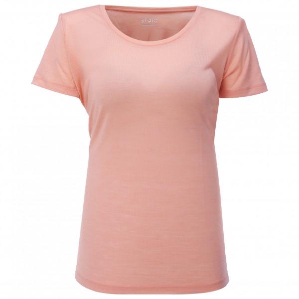 #Stoic – Women's T150 Merino S/S JokkmokkSt. – T-Shirt Gr M beige#