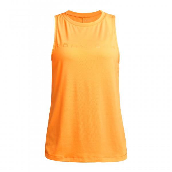 Rhnisch - Womens Clara Loose Singlet - Tank Top Size L  Orange
