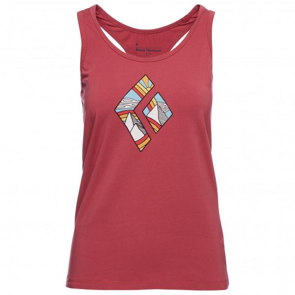 Black Diamond - Womens Rainbow Diamond Tank - Top Size Xl  Pink