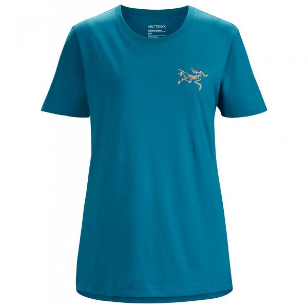 Arcteryx - Womens Bird Emblem S/s - T-shirt Size L  Blue