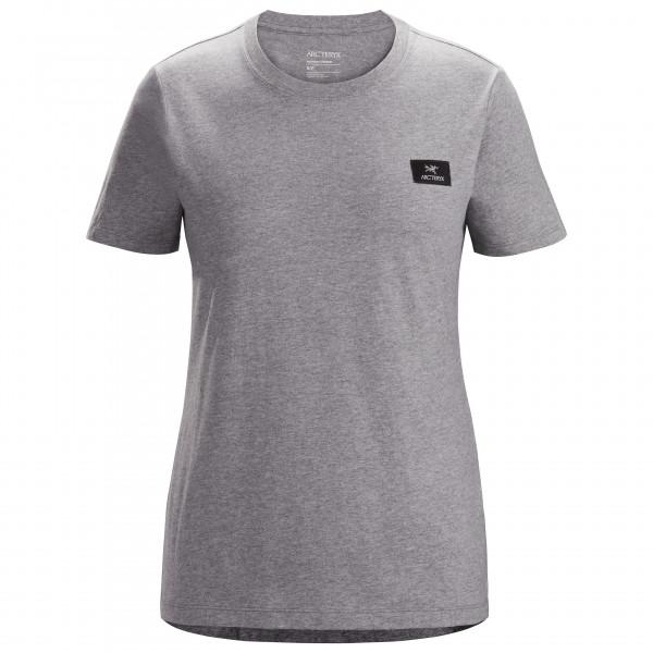 Arcteryx - Womens Emblem Patch S/s - T-shirt Size Xs  Grey