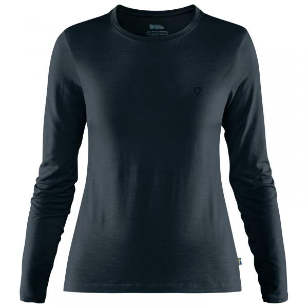 Fjllrven - Womens Abisko Wool L/s - Merino Longsleeve Size S  Black