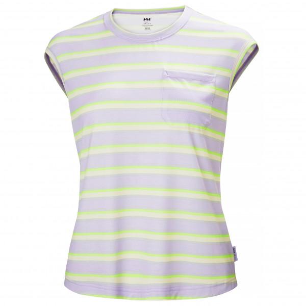 Helly Hansen - Womens Dalen Top - Sport Shirt Size Xl  Grey/white/green