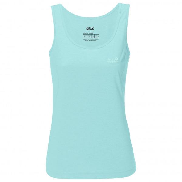 Jack Wolfskin - Womens Crosstrail Top - Tank Top Size Xs  Turquoise
