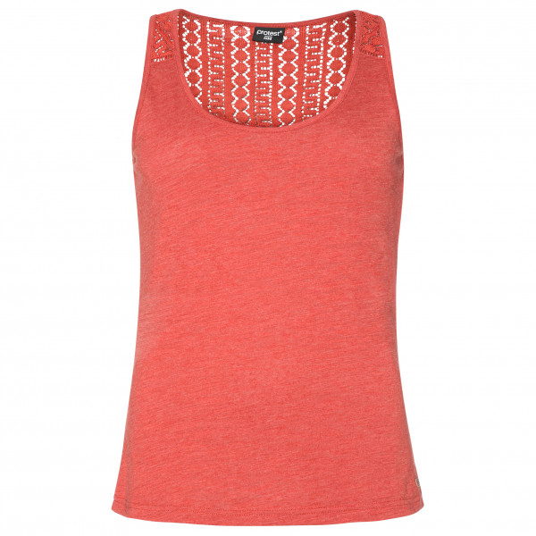 Protest - Womens Beccles 21 Singlet - Top Size 44 - Xxl  Red