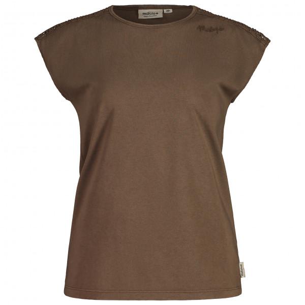 Maloja - Womens Klettendistelm. - T-shirt Size L  Brown
