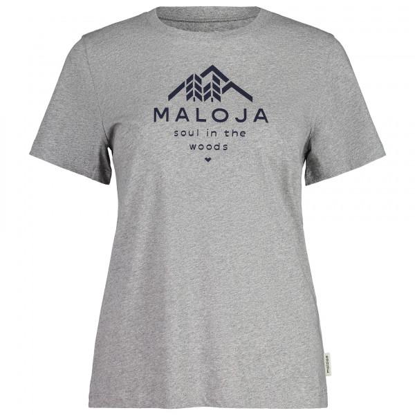 Maloja - Women's PlataneM. - T-Shirt Gr M grau 31408-1-7096-M