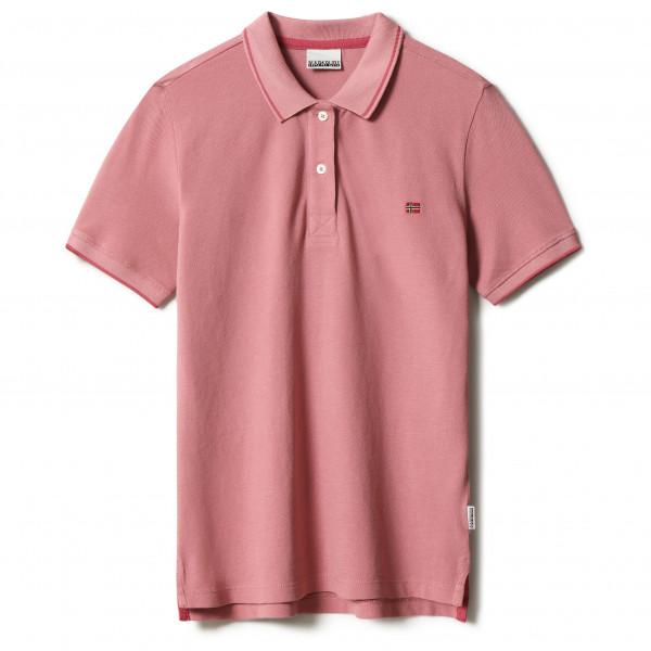 Napapijri - Womens Ealis - Polo Shirt Size L  Red/pink