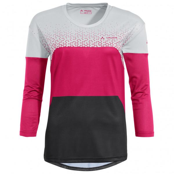 Vaude - Womens Moab L/s T-shirt V - Sport Shirt Size 36  Pink/grey