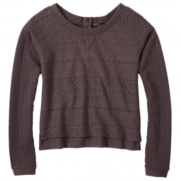Prana - Women´s Dimension Crop Top - Pullover Gr XS schwarz
