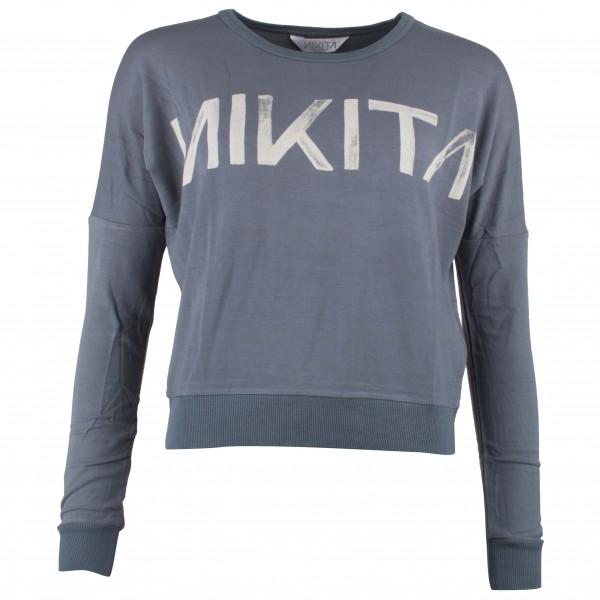 Nikita - Women´s Evolution Crew-Graphic Pullover Gr S grau