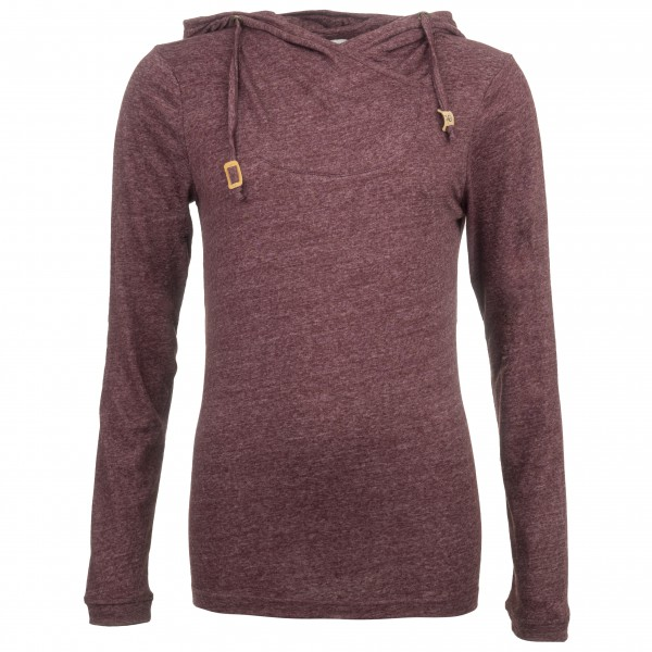 tentree - Women´s Cumulus - Pull-over à capuche taille S, rouge
